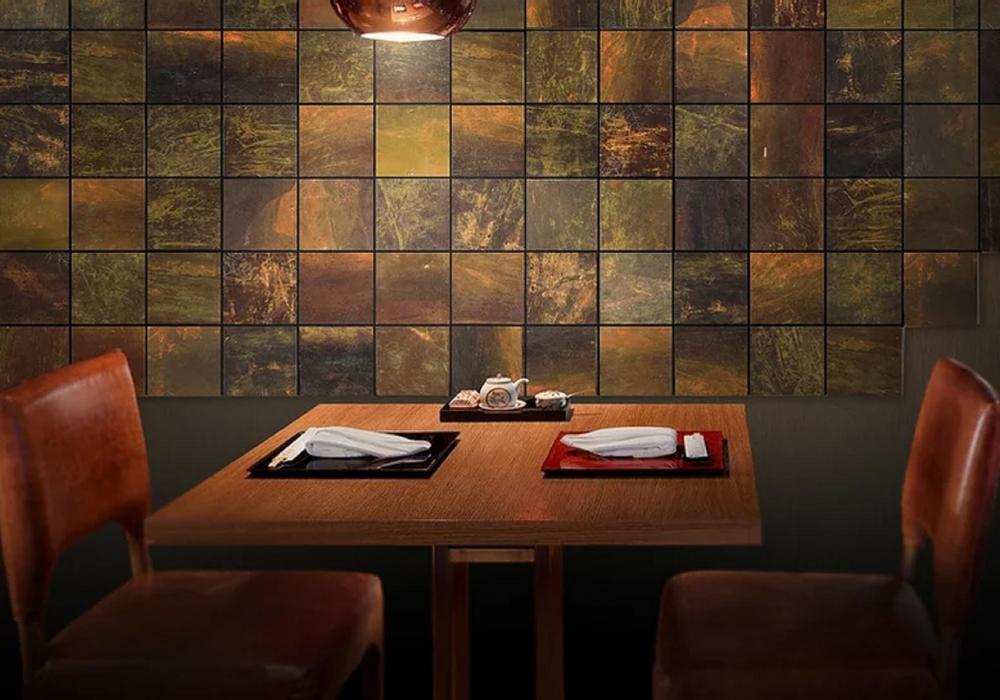 300108 restaurant met kelp algen wand