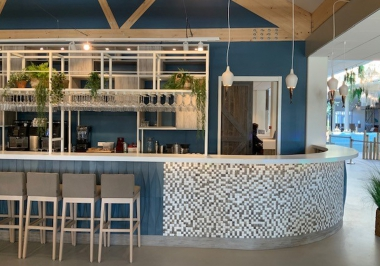 100233 Honai Mosaic bar Roompot Nieuwvliet Bad
