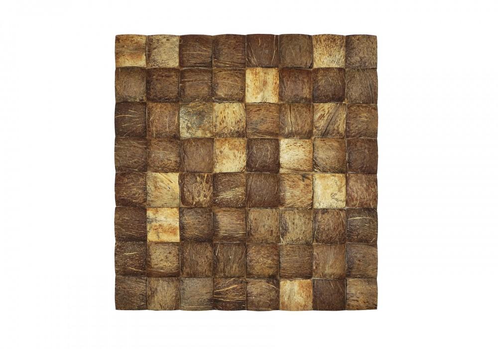 Musalaki coco large grain natural paneel vooraanzicht