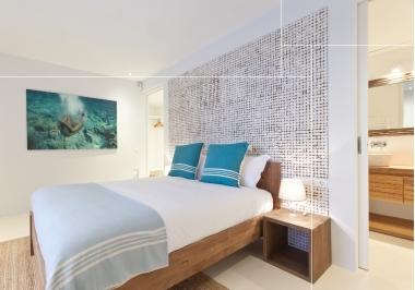 Project slaapkamer met Bagonjong coco bliss patina white