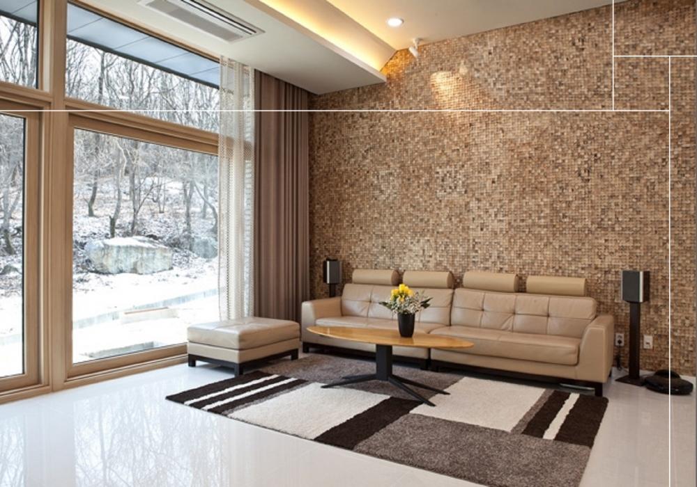 Project woonkamer met Bagonjong coco bliss natural