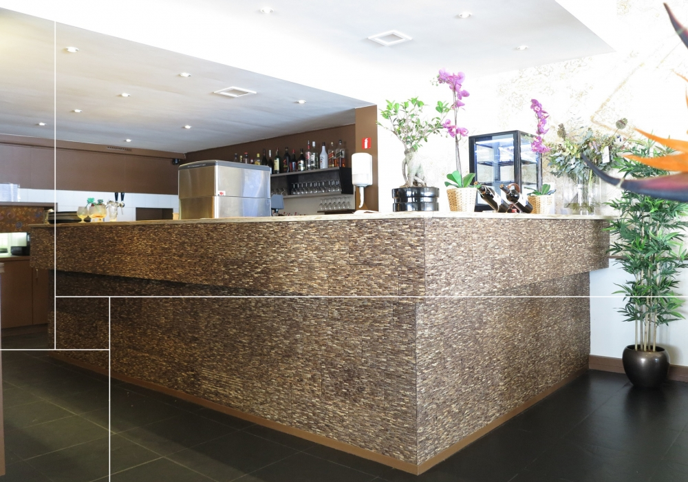 Project restaurant New Bali Tilburg met Omo Niha coco stone grain natural