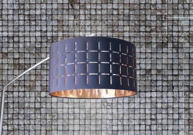 Project lamp met Tongkonan coco evo bliss patina white