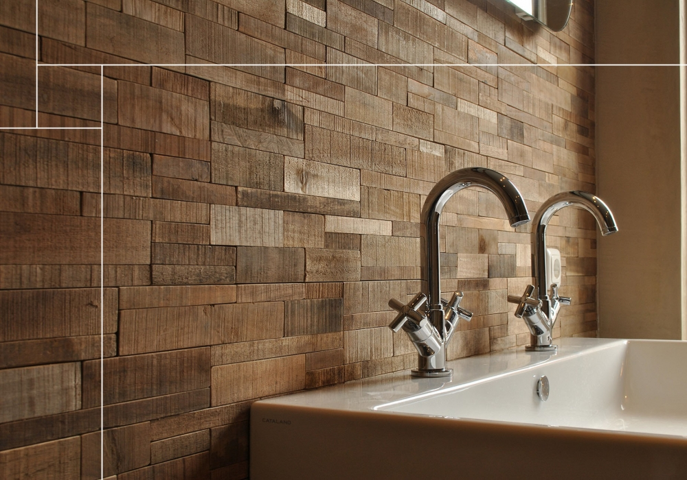 Project kraan badkamer met Joglo Envi Brick Natural