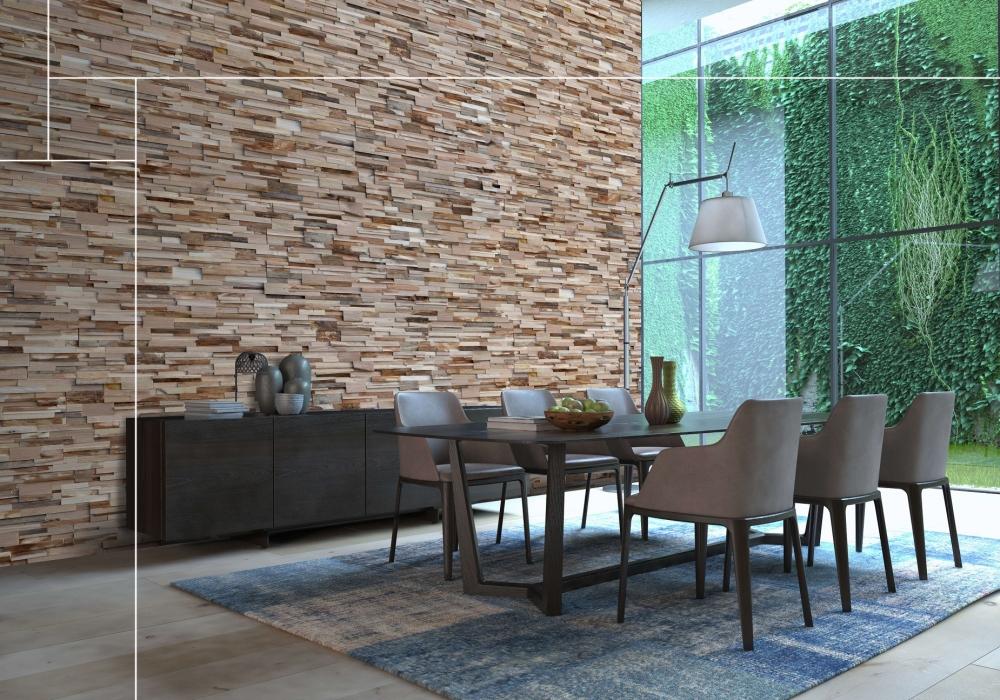 Project tafel met Kastel Gomilica nut natural