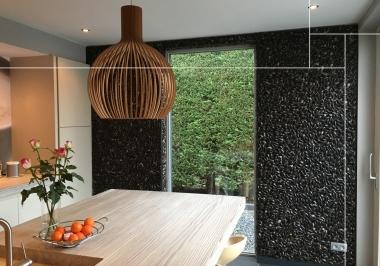 Project keuken met Dutch dyke black