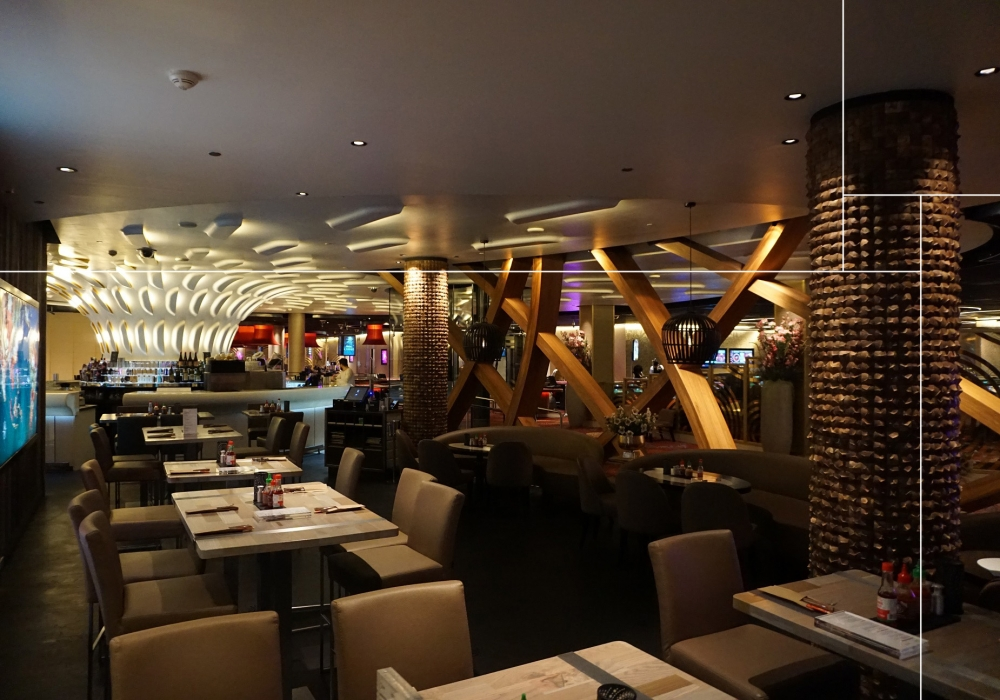 Project restaurant Holland Casino Rotterdam met Barobudur coco Grand Canyon natural