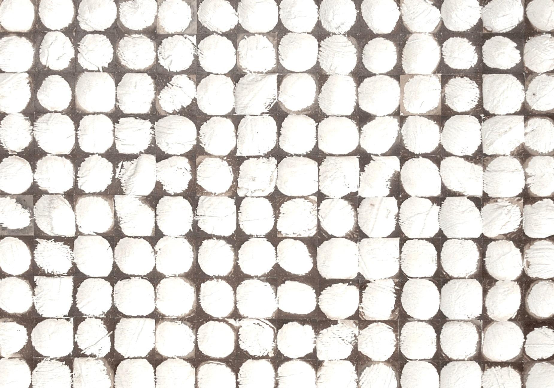 Wit met bruine kokosnoot Bagonjong coco bliss patina white uit de Boracay Beach collectie