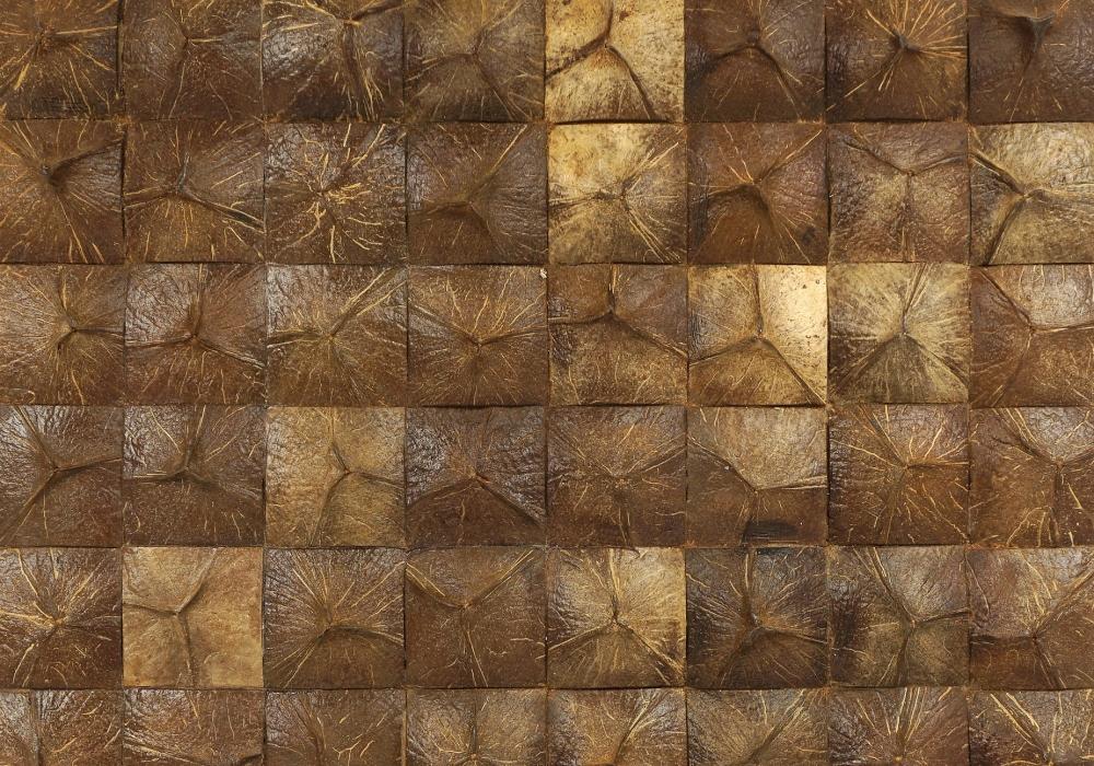 Bruine kleurenmix kokosnoot Borobudur coco Grand Canyon natural uit de Ubud Jungle collectie