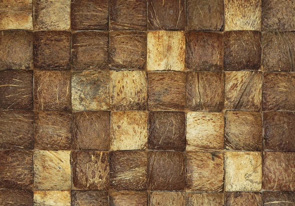 Bruine kleurenmix kokosnoot Musalaki coco large grain natural uit de Bungle Bungles collectie