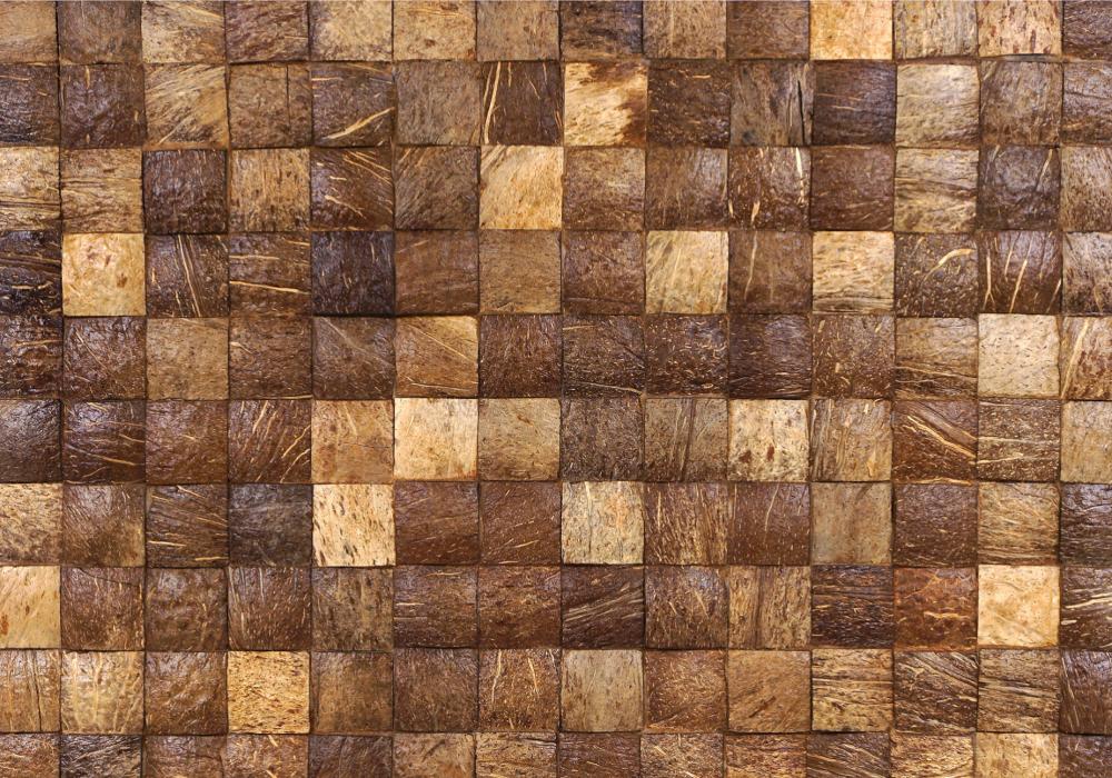 Bruin kleurenmix kokosnoot Mbaru Niang coco Natural uit de Bungle Bungles collectie