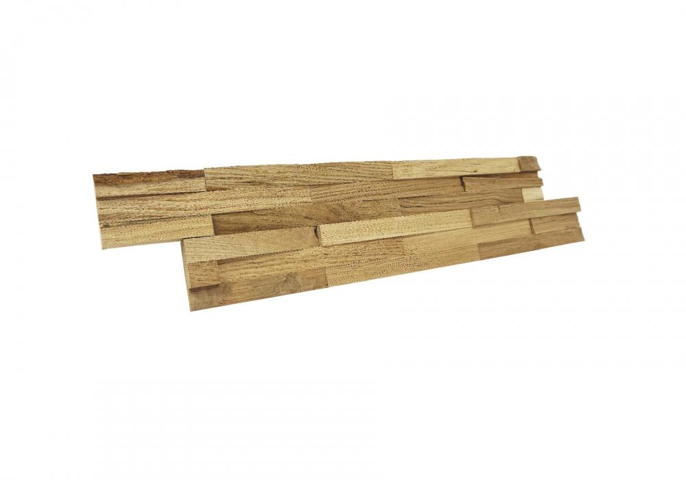 Chalet oak Natural paneel zijaanzicht