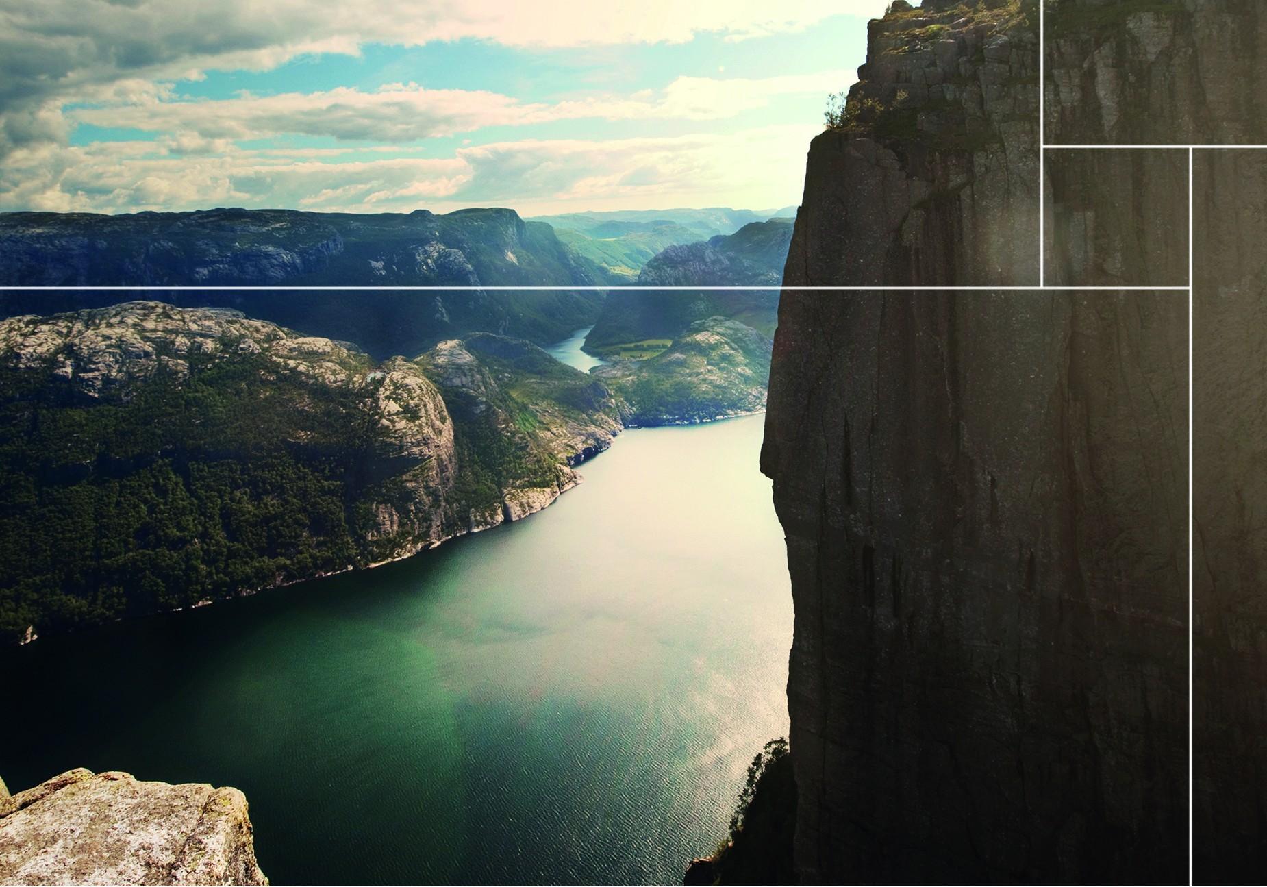 Bekijk hier de wanddecoratie van de Lyse Fjord collectie |Nature@home